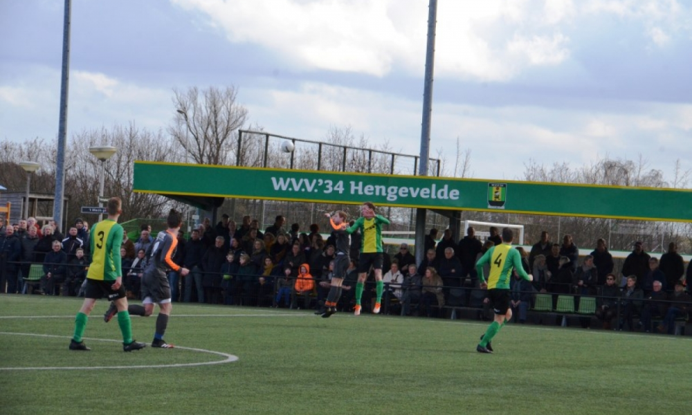 W.V.V.'34 1 in extremis naar overwinning!